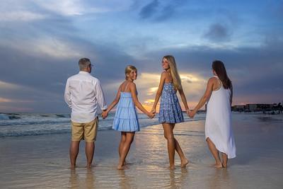 Leach Family Panama City Beach 2021