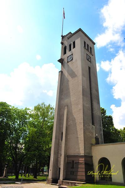 War Museum clock tower.