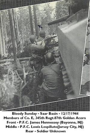 Bloody Sunday - Saar Basin - December 17, 1944