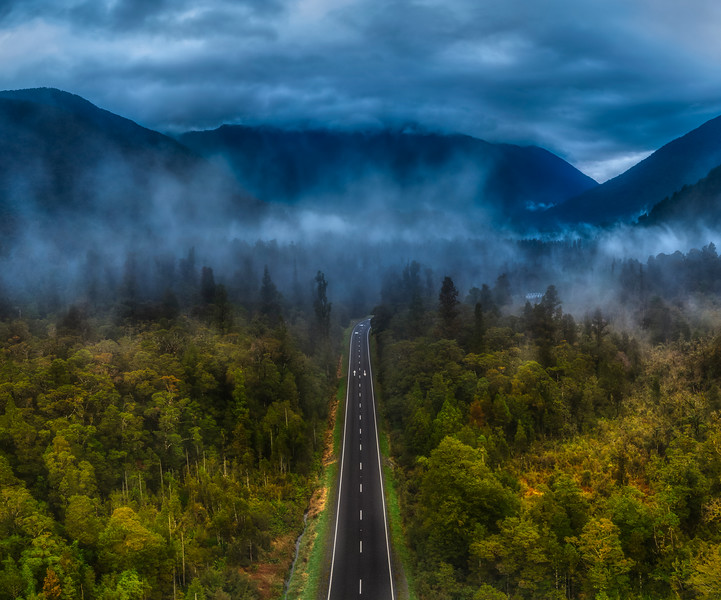 The Road to the Misty Mountains
