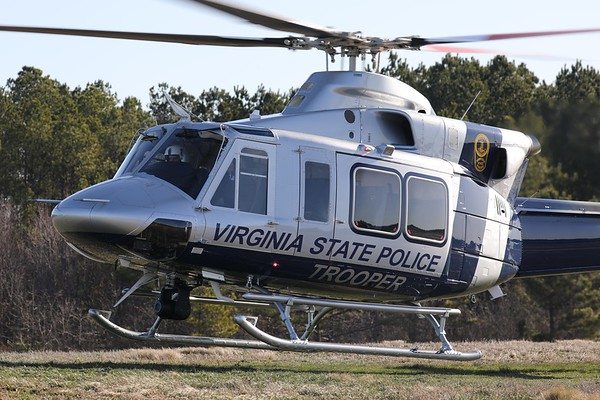 Virginia Department of State Police 2019 Bell 412EPi, Richmond, 21Jan20