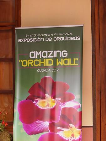 Exposicion de Orquideas Cuenca