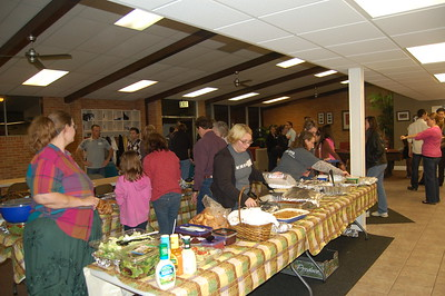 Thanksgiving Feast 2009 at BSM