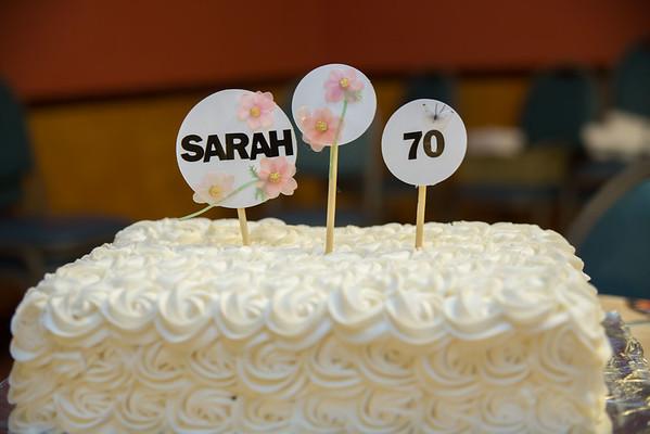 2015.4.27 Sarah R 70th Birthday