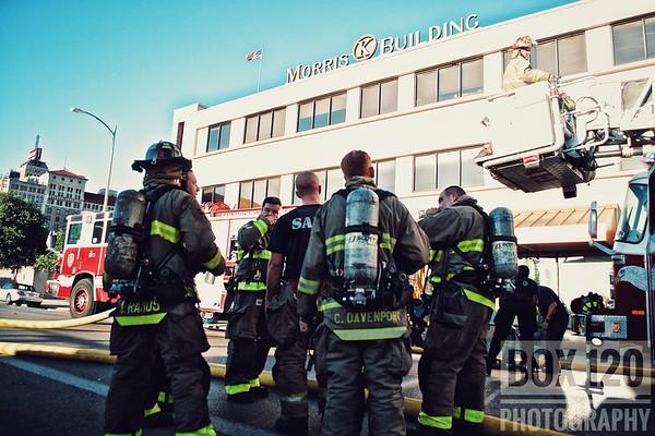 Building Fire - 214 Dwyer St, San Antonio, TX - 7/9/17