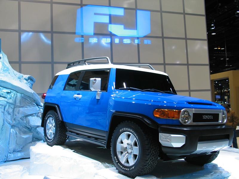 Concept Toyota FJ Cruiser