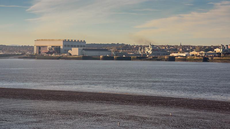 Cammell Laird shipyard in Birkenhead