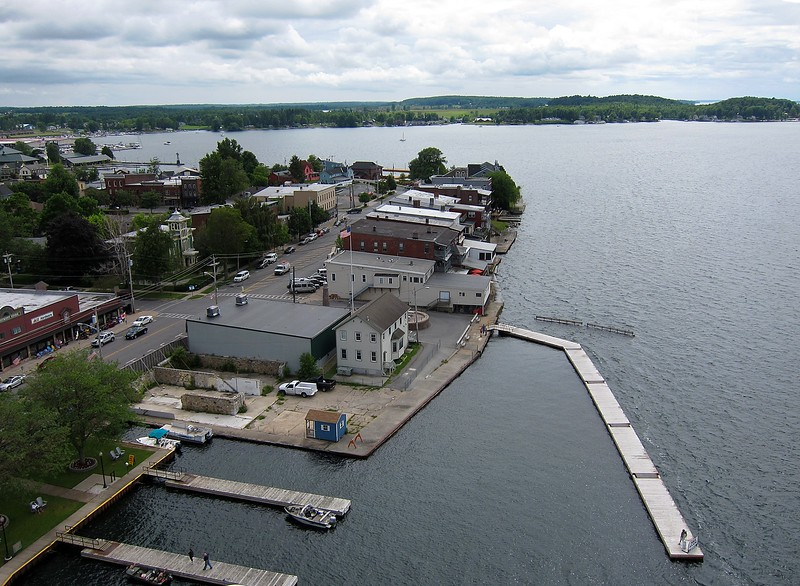 Thousand Islands area along the St Lawrence RIver<br /> Clayton, NY
