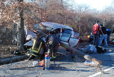 Bethpage F.D. MVA on Plainview Rd. 1/25/08