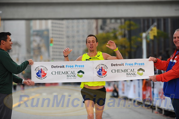 Top Marathon Finishers - 2017 Detroit Free Press Marathon