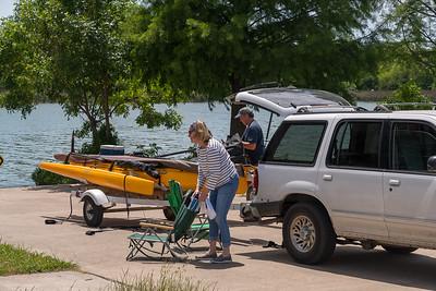 Aunt Connie Sails White Rock Lake