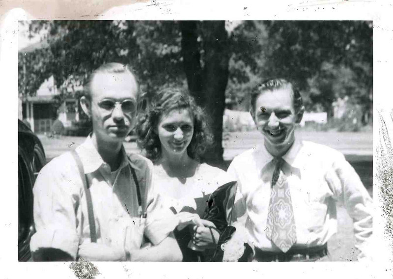 Day Dad and I married in church aug 10,1946.jpg