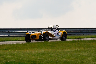2020 SCCA TNiA June Pitt Race Interm Yellow Caterham