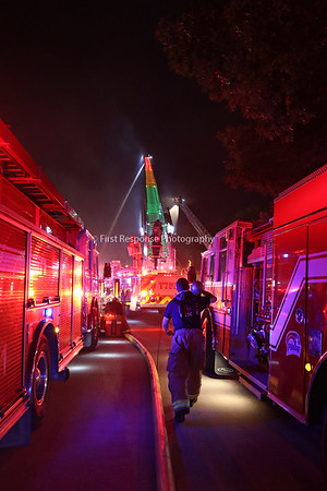 Allen Texas. Residential Mutual Aid structure fire. Creek Valley Ct.