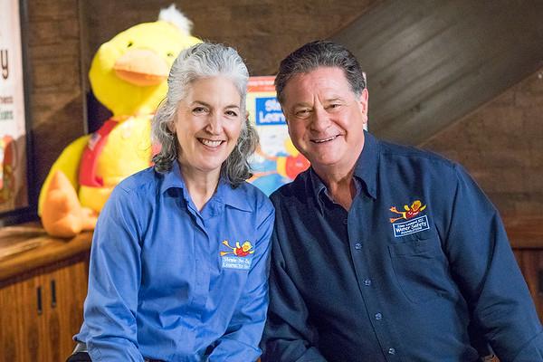 Kim & Stew Leonard co founders