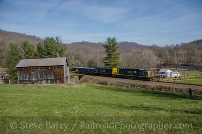 CSX Transportation Dungannon, Virginia November 22, 2014