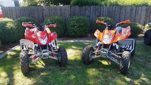 2007 Arctic Cat ATVs