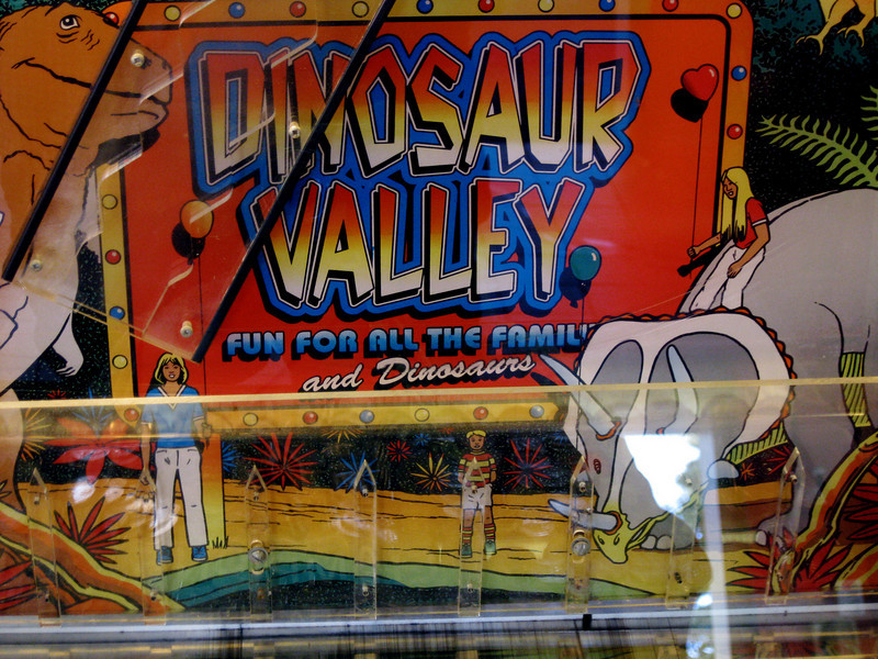 A funny redemption game at the Lake Arcade.