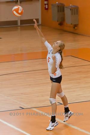Cypress Creek @ Boone Girls JV Volleyball - 2011