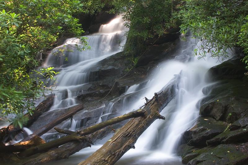Falls on Kilby Mill Creek