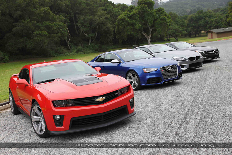 Camaro ZL-1 is best bang for buck in this group.