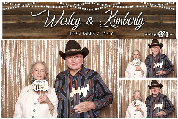 Wesley and Kimberly Wedding 2019