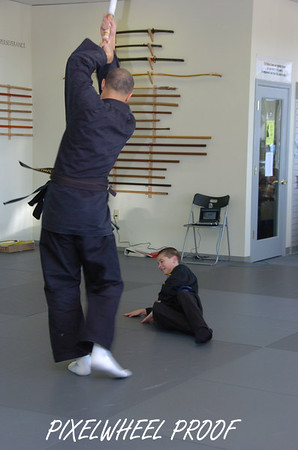 Shin Gan Dojo Testing - November 2006 - Kids 2 (ages 7 - 13)