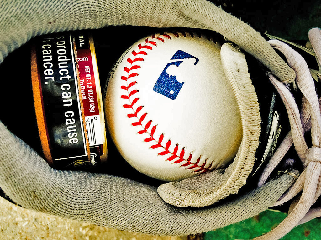 . A baseball spike is packed with essentials. (Pioneer Press: Ben Garvin)