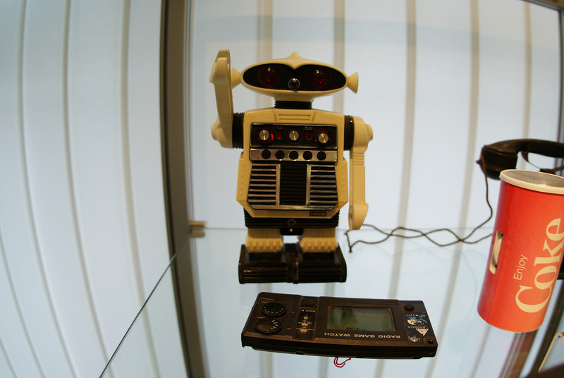 No, this picture is also not the secret reason we went to Hannover, although it was a pretty cool to see this robot radio in a museum in Hannover.  My brother had the exact same radio when we were kids.