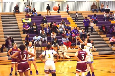 Center Lady Riders Basketball defeats Waskom, 55-37