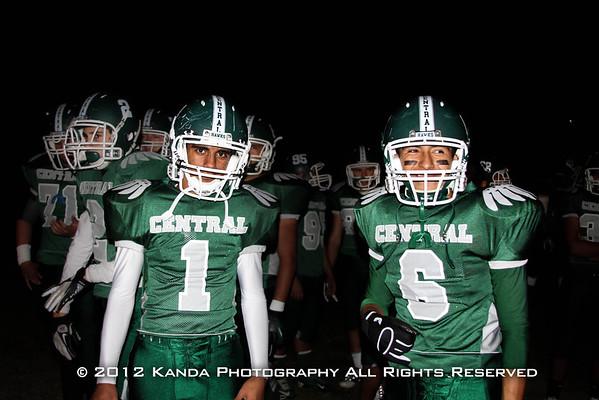 Football v. Ceres High - 11/2/12