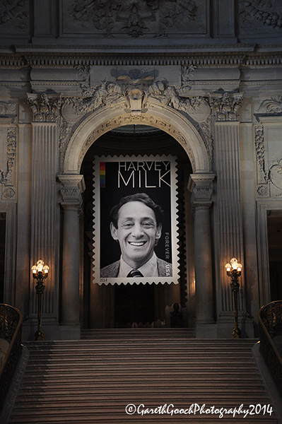 Harvey Milk US Postal Stamp Unveiling, City Hall, SF, 28th May 2014