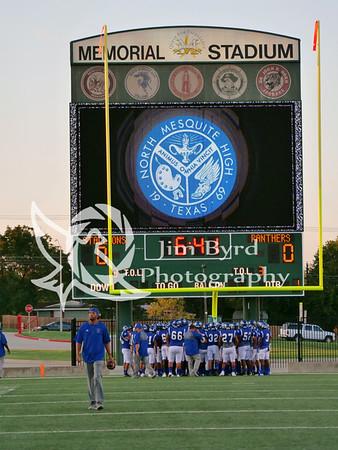 PHS vs N Mesquite HS 9-13-2018
