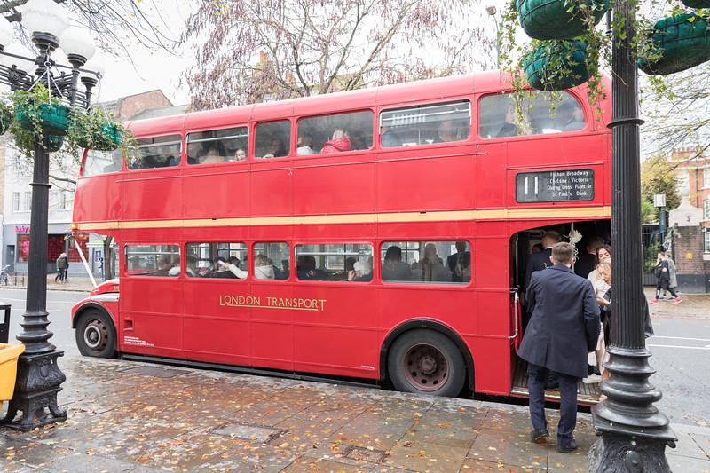 Sammi & Max   London Bus