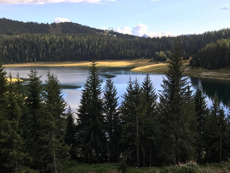 Rifugio Lago Palu view of the lake