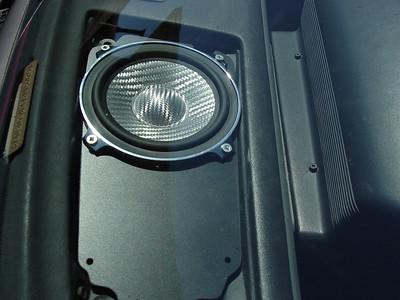 1988 Pontiac Fiero GT Front Door Speaker Installation - USA