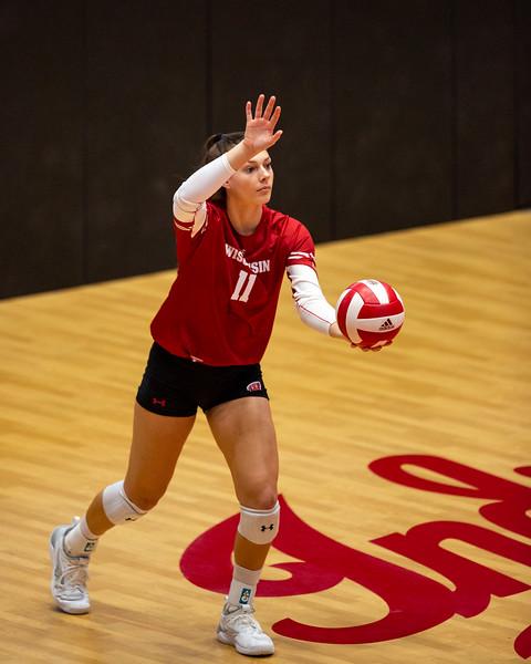 Indiana University Volleyball vs Wisconsin