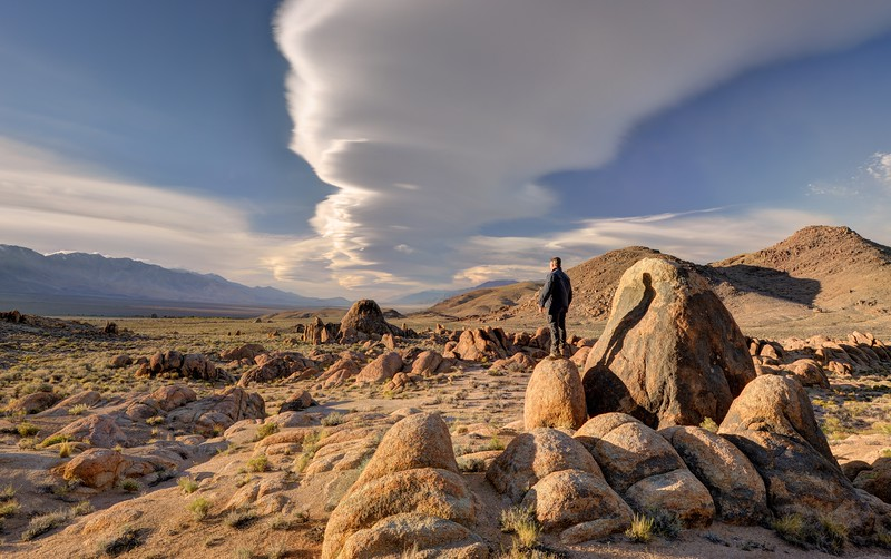 (2015-April 5-7)  Arch Hunting in the Alabama Hills (BLM).  Lone Pine, California.