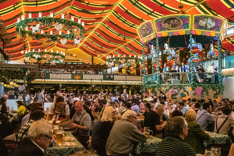Oktoberfest, one of the many beer houses