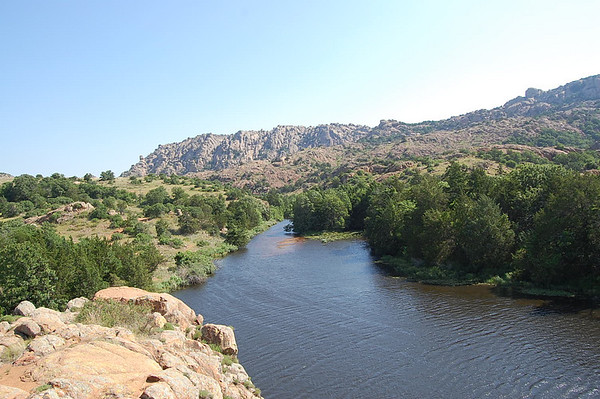 Journal Site 100:  Charon Gardens Trail, Wichita Mountains NWR, Indiahoma, Oklahoma - May 30, 2008