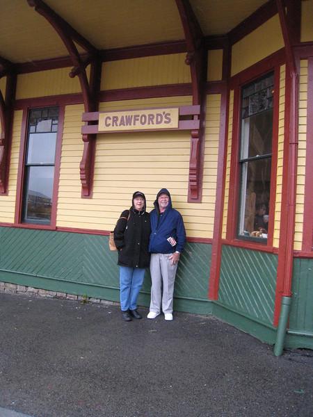 Cindy & David - Conway Scenic Railway Trip, Crawford's Notch, New Hampshire
