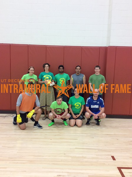 Spring 2017 Indoor Soccer Coed B Runner Up_Competitive Excluders