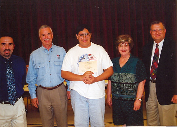 April 2000 Travis Outstanding Student