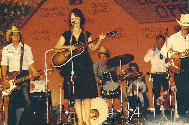 "Jim ""spook"" Flanagan, Jeannie Fender, Dave Andrist and Dave Ford 1983"
