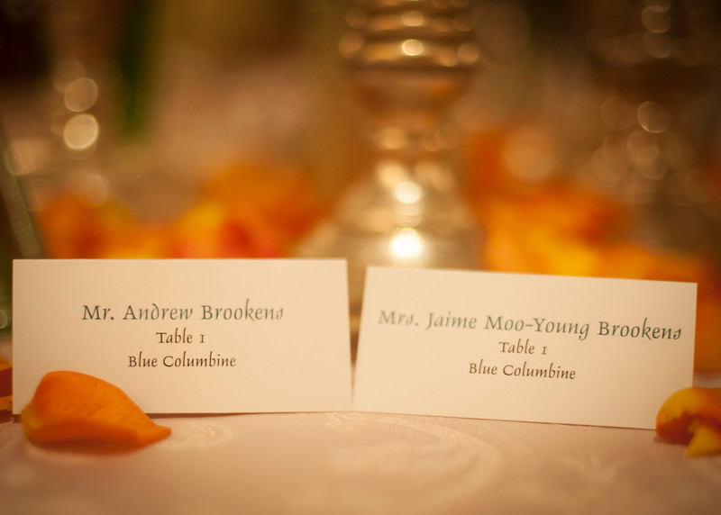 Jaime & Andrew - Wedding Reception at Beaver Creek
