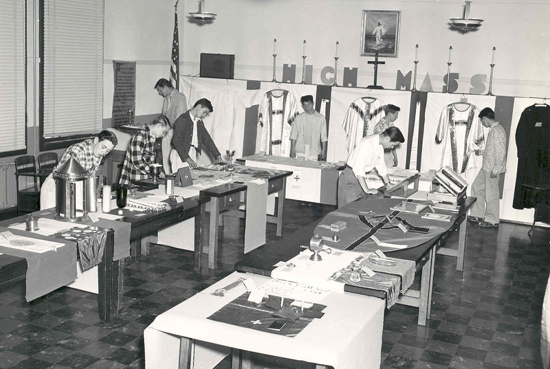 Activities 1949 (Catholic Action sponsors Liturgical Exhibit.jpg