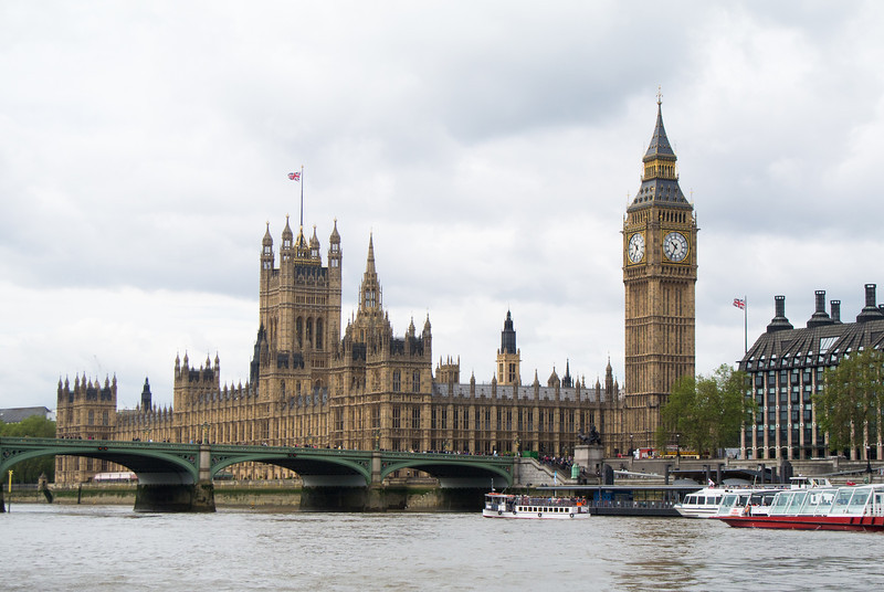 We boarded a Thames River Cruise