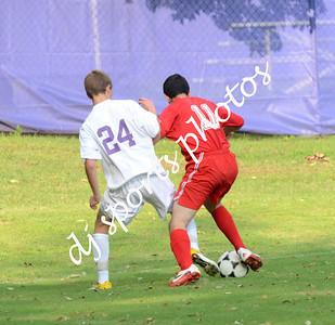 Manual vs Male JV Soccer 2012