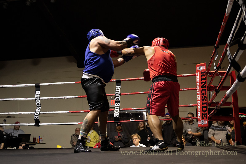2019 White Collar Boxing Event - Bout 7