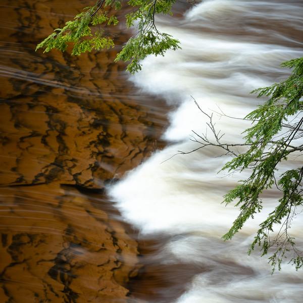 River yin and yang